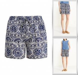 Разноцветные шорты, шорты marco&co, весна-лето 2016