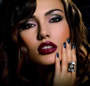 Арабский макияж для карих глаз, гламурный летний макияж для вечера