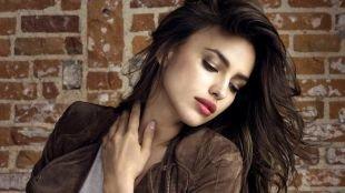 Зимний макияж, макияж для брюнеток с коричневыми перламутровыми тенями