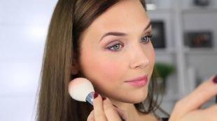 Легкий макияж на каждый день для подростков, дневной макияж для серых глаз