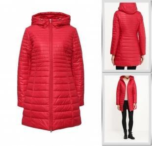 Красные куртки, куртка утепленная baon, осень-зима 2016/2017