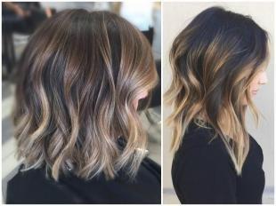 Балаяж - последний тренд в окрашивании волос