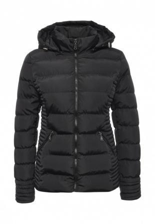 Черные куртки, куртка утепленная adrixx, осень-зима 2016/2017