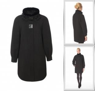 Черные пальто, пальто московская меховая компания,