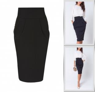 Черные юбки, юбка olga skazkina,