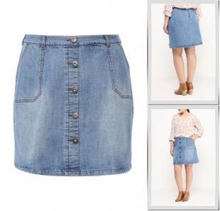 Джинсовые юбки, юбка джинсовая studio untold, весна-лето 2016