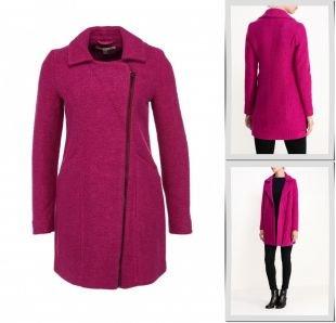 Фуксия пальто, пальто uttam boutique, осень-зима 2015/2016