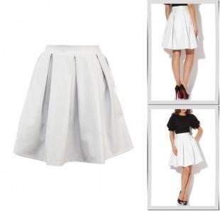 Белые юбки, юбка tutto bene, весна-лето 2015