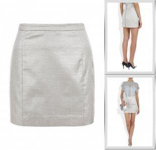 Серебряные юбки, юбка kira plastinina, весна-лето 2014