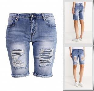 Синие шорты, шорты джинсовые kiss pink, весна-лето 2016