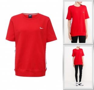 Красные футболки, футболка nike, весна-лето 2016