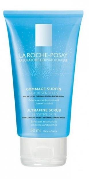 Скраб для проблемной кожи лица, la roche-posay очищающий скраб для очищения и выравнивания кожи физио