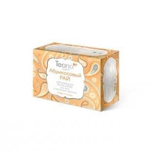 Отшелушивающий скраб, teana абрикосовый рай натуральное мыло-скраб для лица и тела с косточками абрикоса 100 гр (натуральное мыло ручной работы)