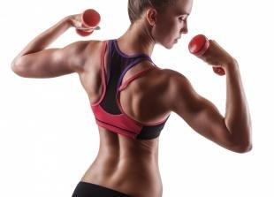 Простые упражнения для похудения рук в домашних условиях