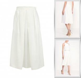 Молочные юбки, юбка charuel, весна-лето 2015