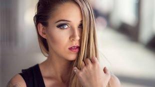 Красивый макияж, обворожительный смоки айс доя серых глаз