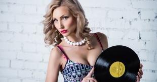 Макияж для блондинок, модный макияж для фотосессии
