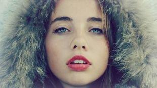 Макияж на фотосессию на природе, макияж для голубых глаз со стрелками