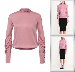 Розовые блузки, блуза d.va, весна-лето 2016