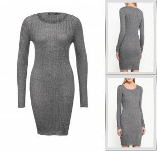 Серые платья, платье brave soul, осень-зима 2016/2017