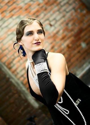 Макияж в стиле Чикаго, темный макияж в стиле чикаго 30-х годов серыми тенями