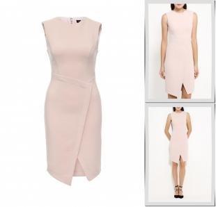 Розовые платья, платье topshop, осень-зима 2016/2017