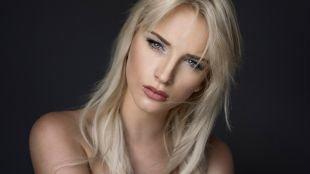 Белый макияж, корректирующий макияж для широкого носа