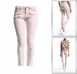 Розовые джинсы, джинсы jennyfer, весна-лето 2015