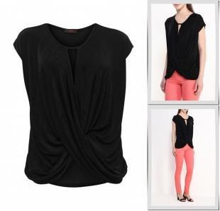 Блузки, блуза edge clothing, весна-лето 2016