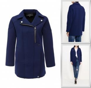 Синие пальто, пальто lost ink, весна-лето 2016