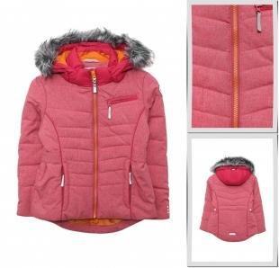 Розовые куртки, куртка утепленная icepeak, осень-зима 2016/2017