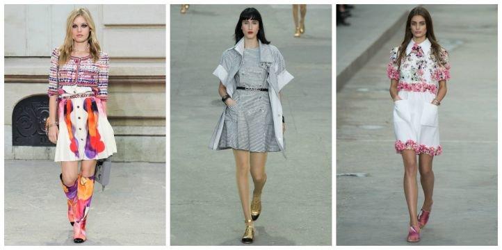 Подбор обуви к платью в стиле casual (городской стиль)