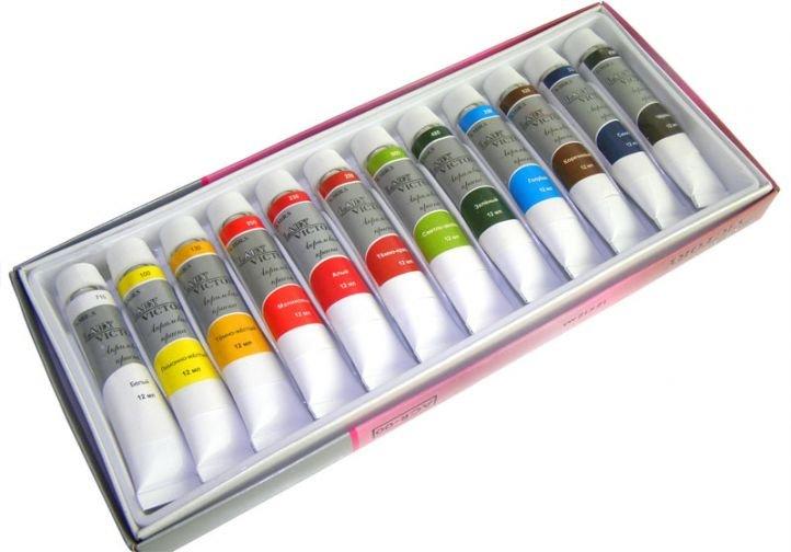 Акриловые краски для китайской росписи ногтей