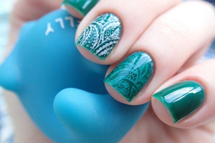 Дизайн ногтей с художественной росписью
